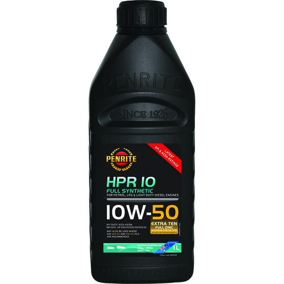 HPR 10 Engine Oil - 10W-50, 1 Litre, , scanz_hi-res