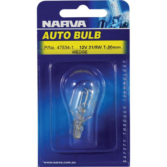 Narva Bulb - 12V, 21/5W, T-20mm, , scanz_hi-res