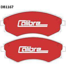 Calibre Disc Brake Pads - DB1167CAL, , scanz_hi-res