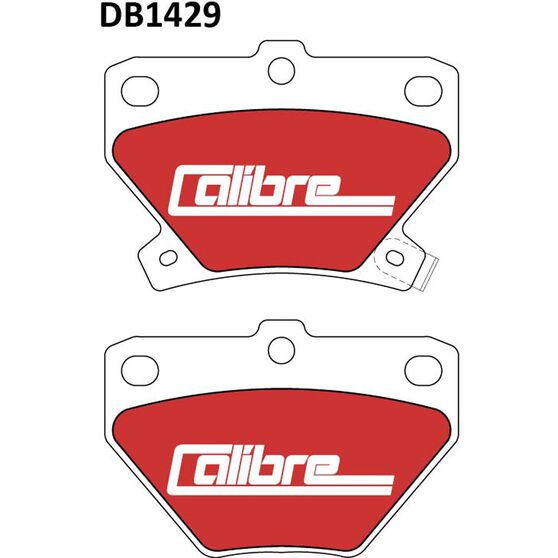 Calibre Disc Brake Pads - DB1429CAL, , scanz_hi-res