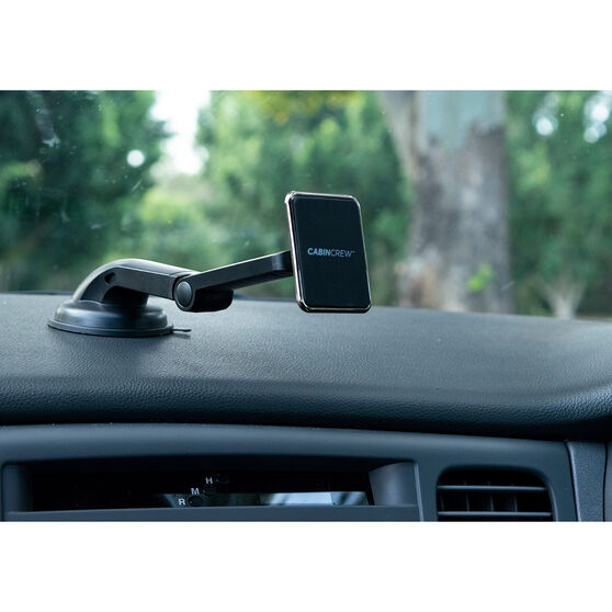 Cabin Crew Phone Holder - Suction Mount, Magnetic, Black, , scanz_hi-res