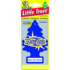 Little Trees Air Freshener - New Car 3 Pack, , scanz_hi-res