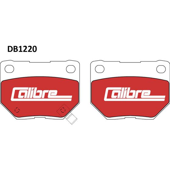Calibre Disc Brake Pads - DB1220CAL, , scanz_hi-res