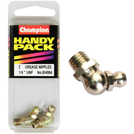 Champion Grease Nipples - UNF 1 / 4-45�, BH054, Handy Pack, , scanz_hi-res