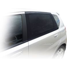 SCA Window Shade - Side, Small Curved, Black, Pair, , scanz_hi-res
