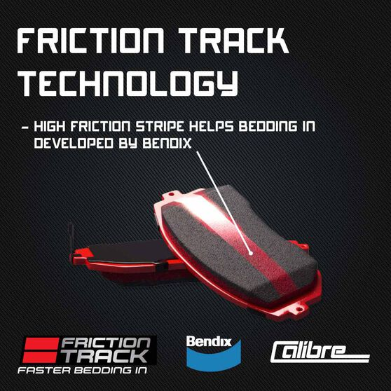 Calibre Disc Brake Pads - DB1254CAL, , scanz_hi-res