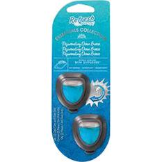 Refresh Vent Air Freshener - Rejuvinating Ocean Breeze, 2 Pack, , scanz_hi-res