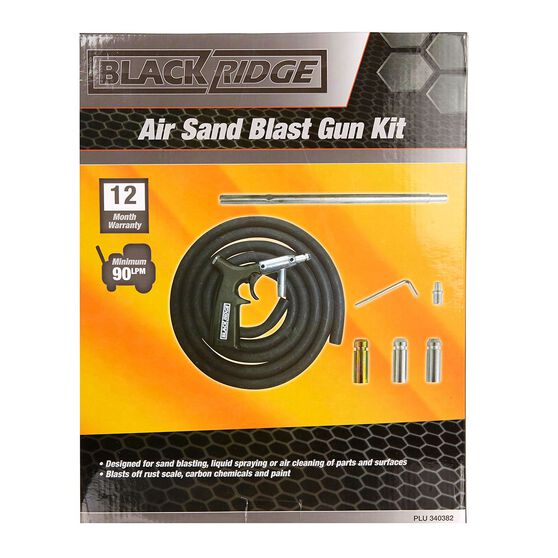 Blackridge Air Sand Blast Gun Kit, , scanz_hi-res
