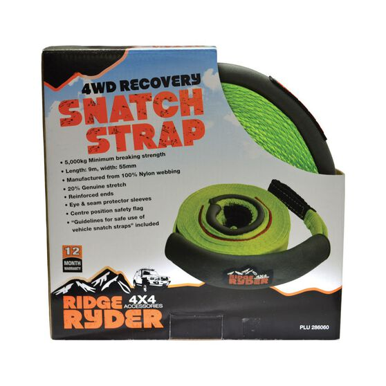 Ridge Ryder SUV Snatch Strap - 9m, 5000kg, , scanz_hi-res