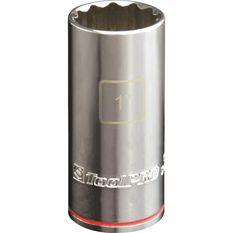 ToolPRO Single Socket - Deep, 1 / 2 inch Drive, 1 inch, , scanz_hi-res