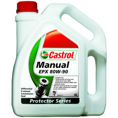Castrol EPX Differential & Manual Transmission Fluid - 80W-90, 4 Litre, , scanz_hi-res