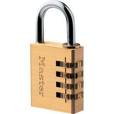 Master Lock Padlock - Combination, 40mm, , scanz_hi-res