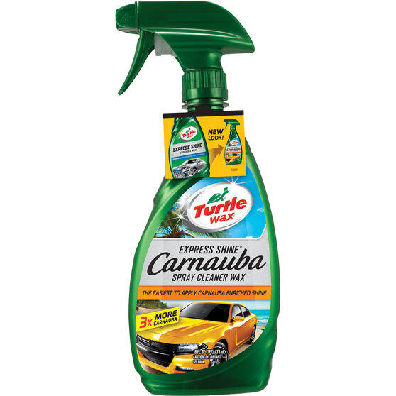 Turtle Wax Express Shine Carnauba Spray Cleaner Wax 473mL, , scanz_hi-res