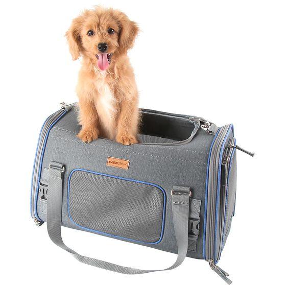 CABIN CREW PETS PET CARRIER GREY/BLUE, , scanz_hi-res