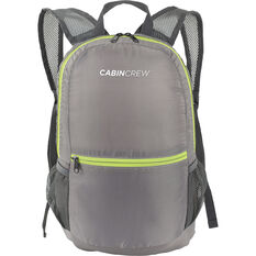 Cabin Crew Glovebox Backpack - 12L Grey/Green, , scanz_hi-res