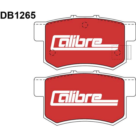 Calibre Disc Brake Pads - DB1265CAL, , scanz_hi-res