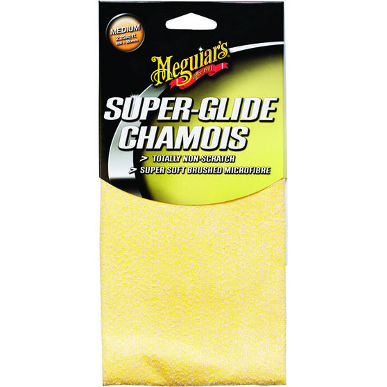 Meguiar's Super Glide Chamois - 600 x 350mm, , scanz_hi-res