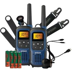 Waterproof UHF Handheld Twin Pack UHF2295-2BL, , scanz_hi-res