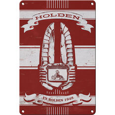 Heritage Tin Sign - Holden Car Grill, , scanz_hi-res