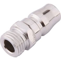 Blackridge Air Fitting Nipple, Male Plug - 1 / 4inch, , scanz_hi-res