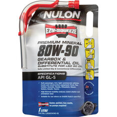 Nulon EZY-SQUEEZE Gearbox & Differential Oil 80W-90 1 Litre, , scanz_hi-res