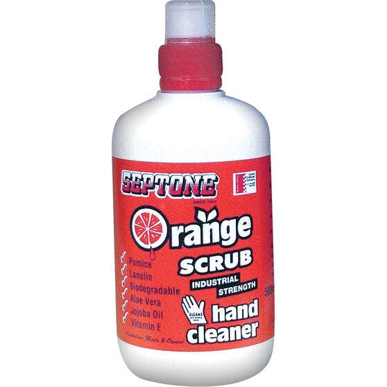 Septone Orange Scrub Hand Cleaner - 500mL, , scanz_hi-res