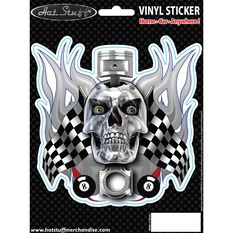 Sticker - Skull Piston Flags, , scanz_hi-res