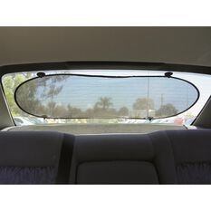SCA Rear Sunshade - Rear, Mesh, Black, Single, , scanz_hi-res