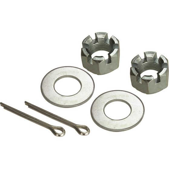 SCA Axle Nut Kit - Axle Nut, Washers and Split Pins, , scanz_hi-res