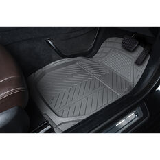 Ridge Ryder Deep Dish Car Floor Mats - Charcoal, Set of 4, , scanz_hi-res