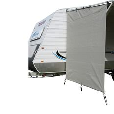 Camec Caravan Privacy Screen 2m x 1.8m End, , scanz_hi-res