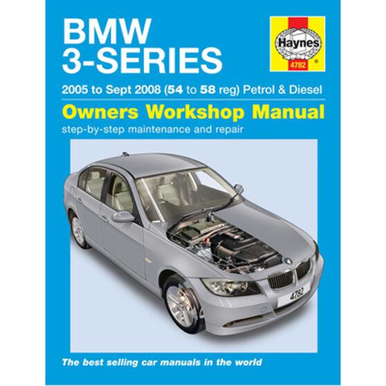 Haynes Car Manual BMW 3-Series 2005-2008 - 4782, , scanz_hi-res
