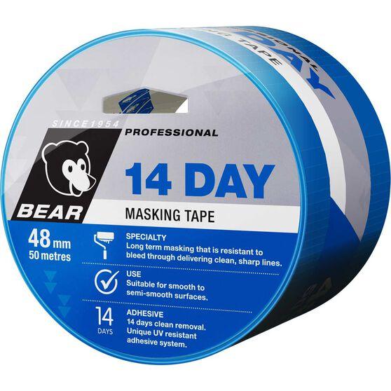 Norton 14 Day Masking Tape - Blue, 48mm x 50m, , scanz_hi-res