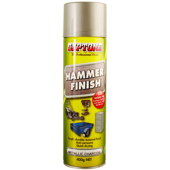 Septone Aerosol Paint Hammer Finish - Metallic Charcoal, 400g, , scanz_hi-res