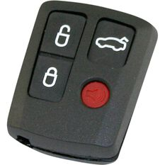 Key Remote Button & Shell Replacement - For BA - BF Falcon, 4 Button, , scanz_hi-res
