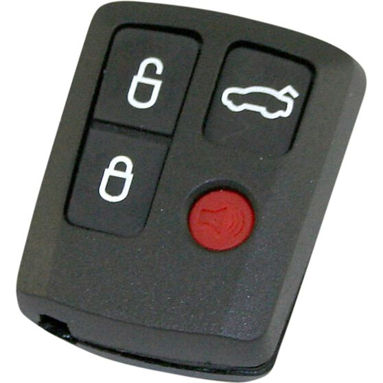 MAP Key Remote Button and Shell Replacement - Suits BA - BF Falcon, 4 Button, KF134, , scanz_hi-res