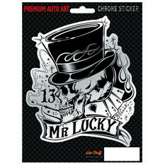 Hot Stuff Sticker - Mr Lucky, Chrome, , scanz_hi-res