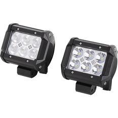 Enduralight Driving Light Kit - LED, 18W, 2 Pack, , scanz_hi-res