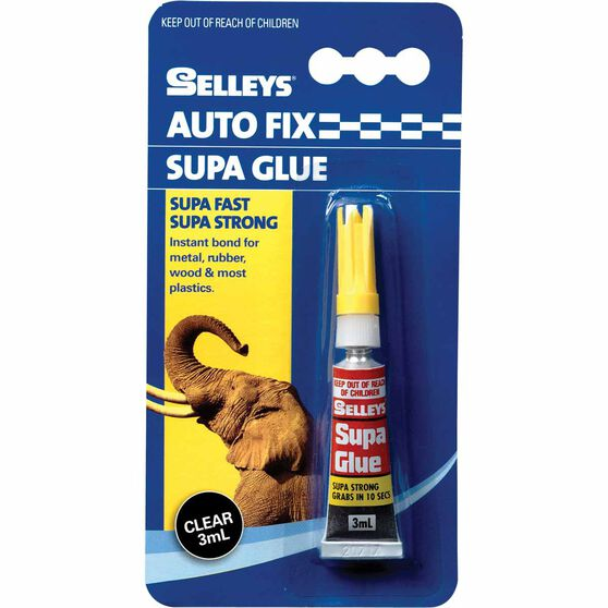 Selleys Autofix - Supa Glue, 3mL, , scanz_hi-res