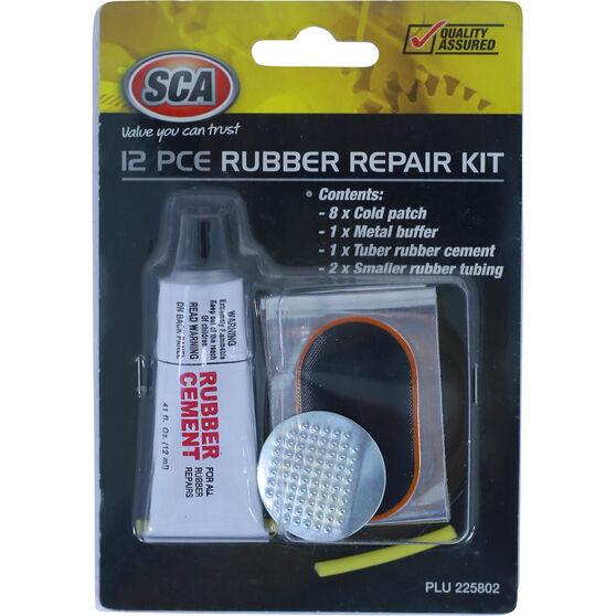 SCA Rubber Repair Kit - 12 Piece, , scanz_hi-res