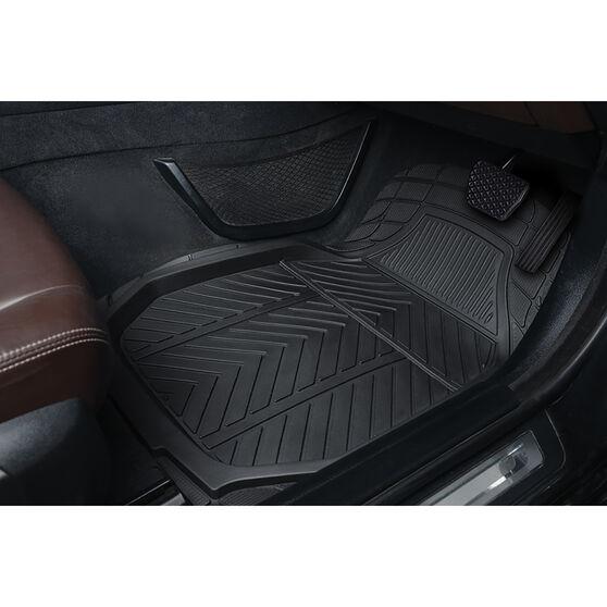 Ridge Ryder Black Deep Dish Car Floor Mats, , scanz_hi-res