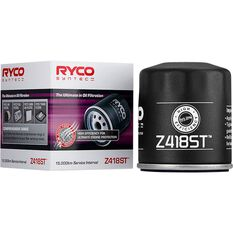 Ryco Syntec Oil Filter (Interchangeable with Z418) - Z418ST, , scanz_hi-res