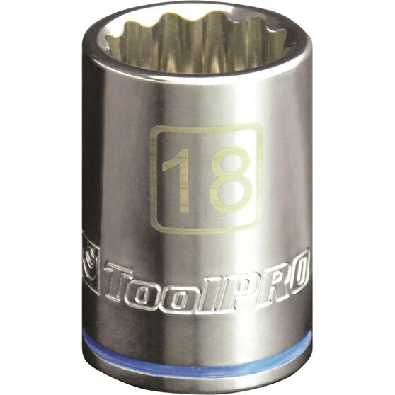 "ToolPRO Single Socket 1/2"" Drive 18mm, , scanz_hi-res"