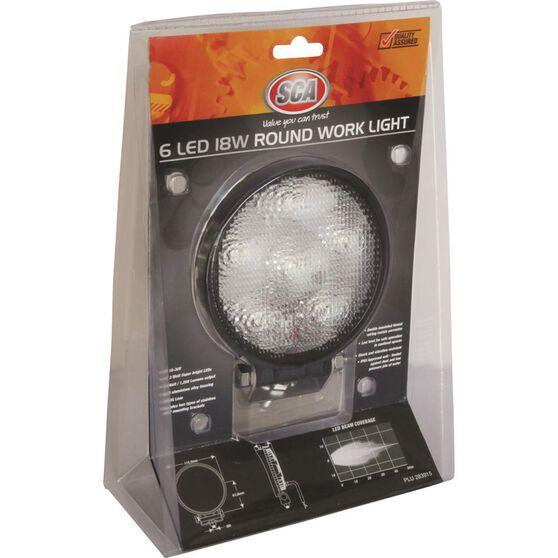 SCA Work Light - 18W, Round, , scanz_hi-res