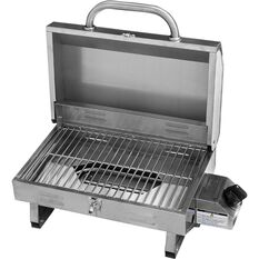 Kiwi Sizzler Portable BBQ - Single Burner, Stainless Steel, , scanz_hi-res