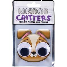 Mirror Critter Air Freshener - Terrior Dog Black Night, , scanz_hi-res
