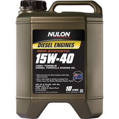 Semi Synthetic High Torque Diesel Oil - 15W-40, 10 Litre, , scanz_hi-res