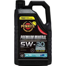 Penrite Premium Mineral Engine Oil 5W-30 5 Litre, , scanz_hi-res