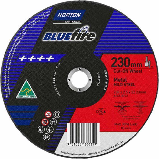 Norton Metal Cut off Disc - 230mm x 2.5mm x 22mm, , scanz_hi-res