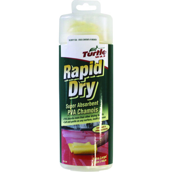 Turtle Wax Rapid Dry Chamois - 64cm X 43cm, , scanz_hi-res